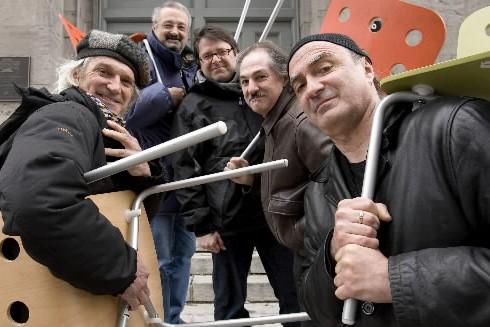 Les Charbonniers de l'enfer... (Photo: Alain Roberge, La Presse)