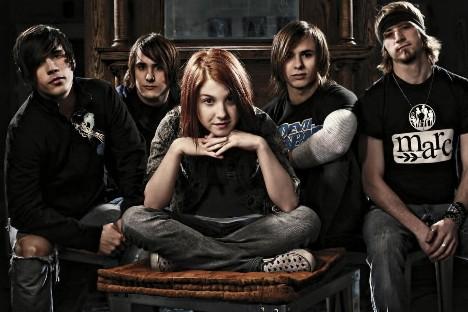 Les membres du groupe Paramore... (Photo: fournie par Warner music)