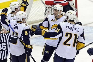 Les Sabres de Buffalo sont arrivés à Montréal avec un trio qui... (Photo: AP)