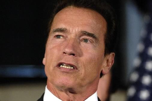 Le gouverneur de la Californie Arnold  Schwarzenegger.... (Photo: Bloomberg)