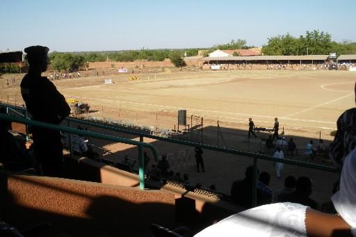 Le terrain de soccer de Ouahigouya. Quand les... (Photo: Azize Bamogo, collaboration spéciale)
