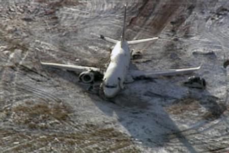 Au moins 58 personnes ont été blessées lorsqu'un Boeing de la... (Photo: AP)