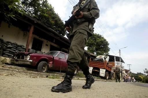 Les noms de 326 Colombiens otages des Farc ont été divulgués... (Photo: AFP)