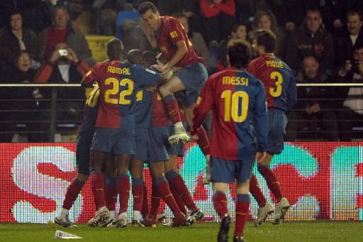 Le FC Barcelone a remporté dimanche sa quatrième victoire... (Photo: AFP)