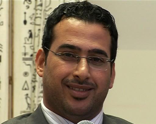 Mountadhar al-Zeidi... (Photo: AFP)