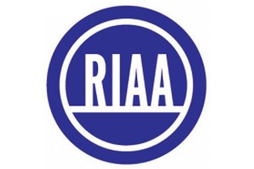 Le logo de la RIAA...