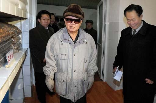 Kim Jong-Il.... (Photo: AFP)