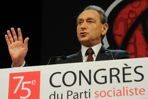 Bertrand Delanoë... (Photo: AFP)