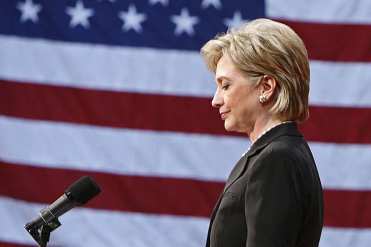 L'ex-candidate à la présidentielle américaine Hillary Clinton... (Photo: Reuters)
