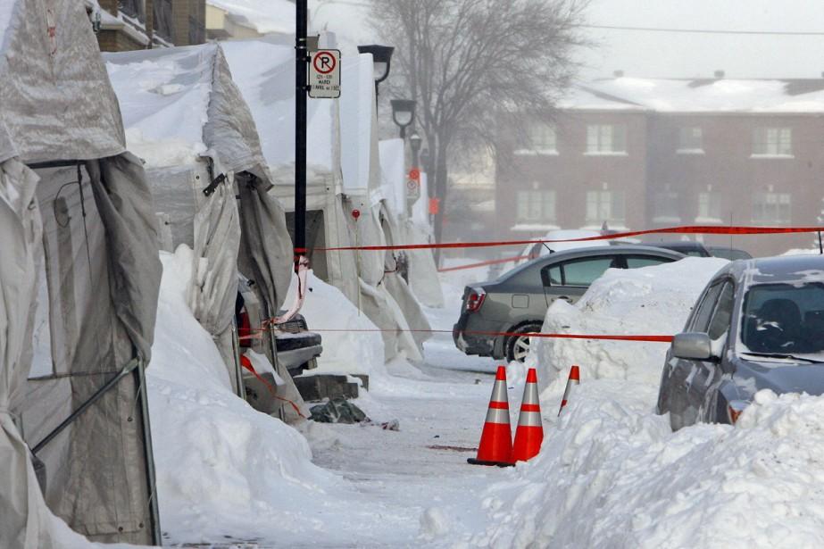Deux policiers en civil ont tiré sur un... (Photo: Robert Mailloux, La Presse)