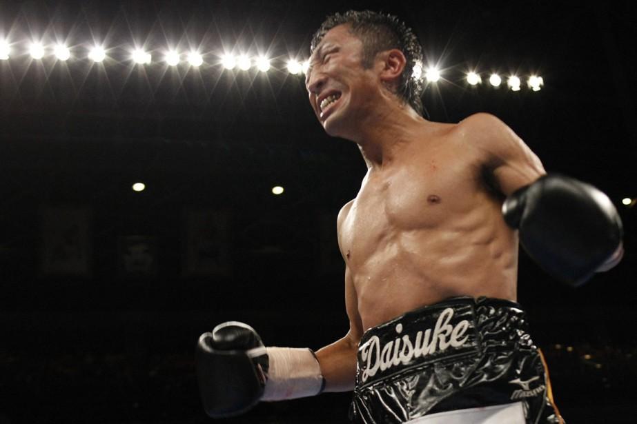 Daisuke Naito... (Photo: AFP)