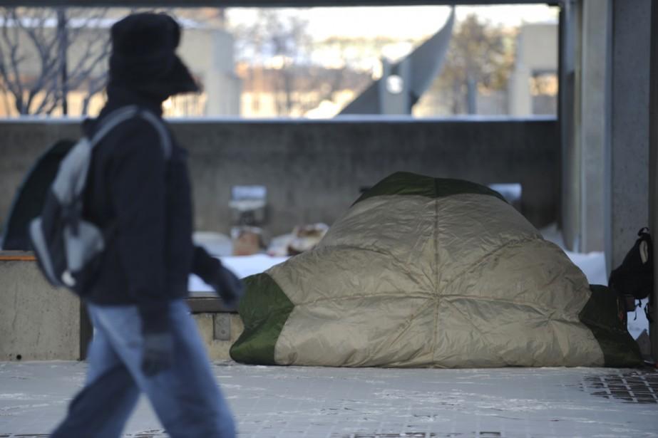Comme le souhaitait le maire de Montréal,... (Photo: Bernard Brault, La Presse)