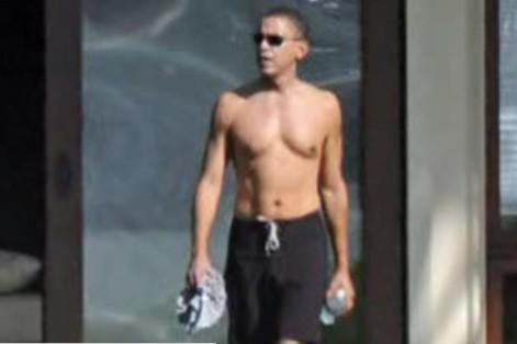 Barack Obama à Hawaii... (YouTube)