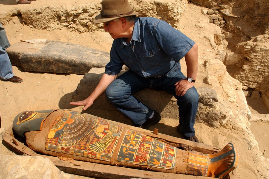 Un Australien a tenté de quitter l'Égypte avec dans ses bagages... (Photo: AP)
