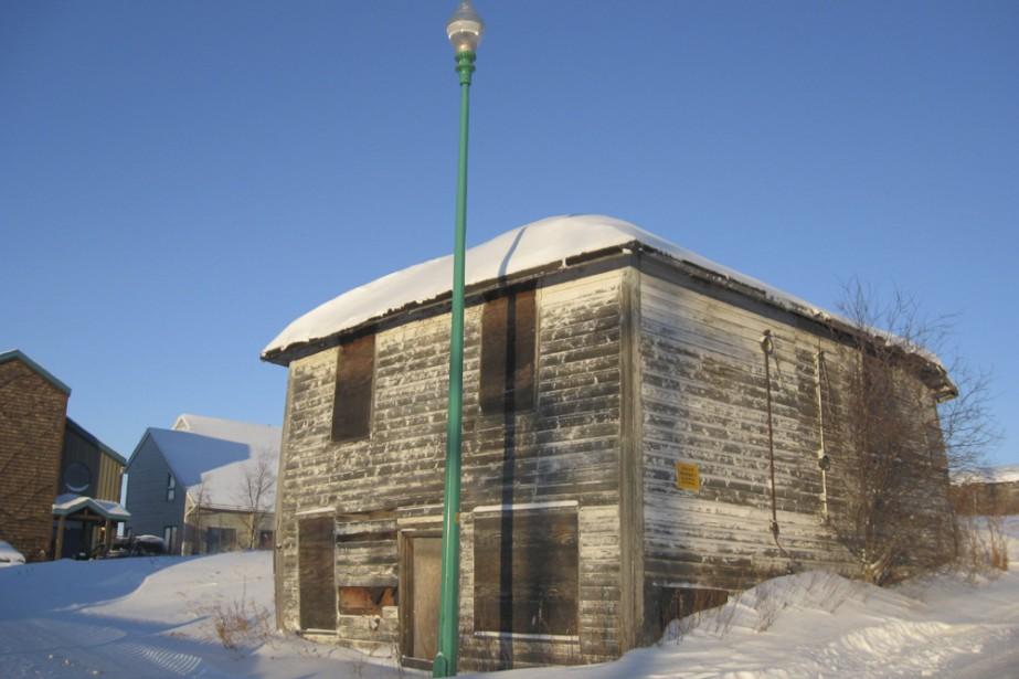 La «Maison des horreurs» construite en 1938 par... (Photo: Marie Tison, La Presse)