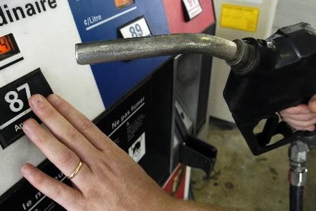 Le prix de l'essence a fait un bond de 8... (Photo: Robert Mailloux, La Presse)