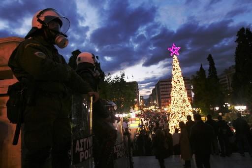 Les manifestations se multiplient depuis le 6 décembre,... (Photo: AP)