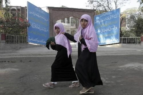 Des talibans de la très instable vallée de Swat, dans le... (Photo: AP)