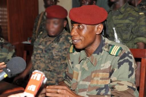 Le capitaine Moussa  Dadis  Camara.... (Photo: AFP)