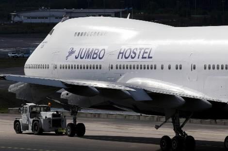 Un vieux Boeing 747 a été transformé en... (Photo: AFP)