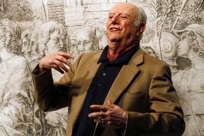 L'homme de théâtre italien Dario Fo, Prix Nobel... (Photo: AP)