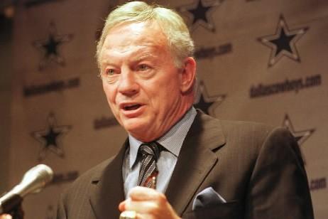 Le propriétaire des Cowboys de Dallas, Jerry Jones.... (Photo: AP)
