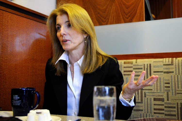 Caroline Kennedy, la fille du président assassiné, a mis fin... (Photo: AP)