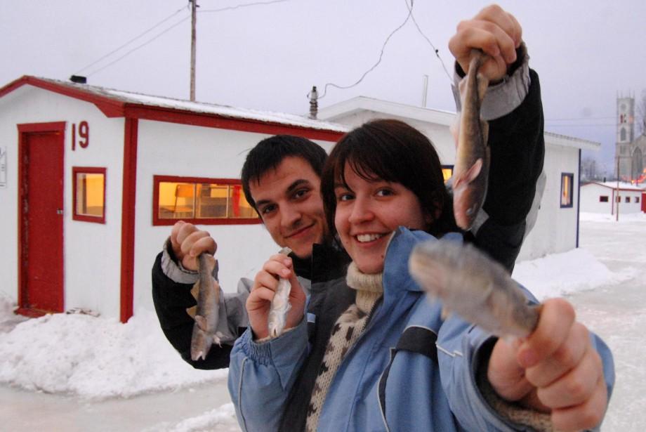 Originaires de Limoges en France, Simon et Sophie... (Photo: Sylvain Mayer)