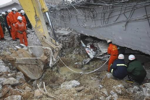 Un tremblement de terre avait fait beaucoup de... (Photo: Reuters)