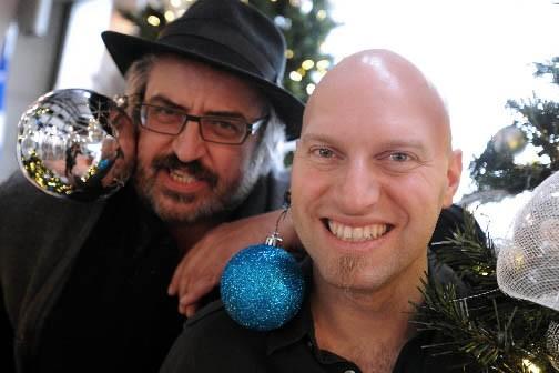 Yves Lambert et Marco Calliari... (Photo: Le Soleil)