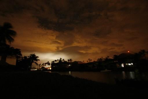 Environ 900 000 personnes ont été privées d'électricité... (Photo: Reuters)
