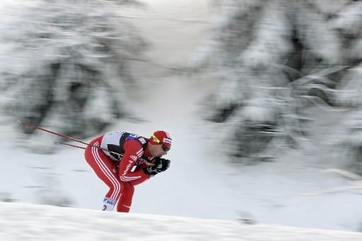 Dario  Cologna... (Photo: AFP)
