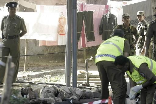 Au moins huit personnes ont été tuées, et dix-sept autres... (Photo: Reuters)