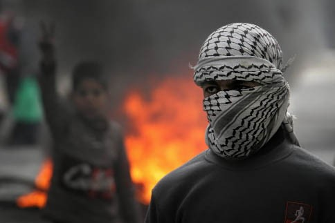 Un Palestinien... (Photo: AP)