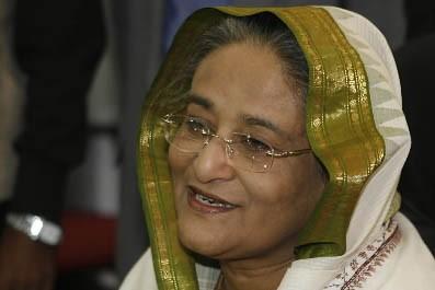 L'ancienne Premier ministre du Bangladesh, Cheikh Hasina Wajed... (Photo: AFP)