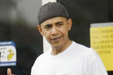 Le futur président américain Barack Obama, lors de... (Photo: AP)