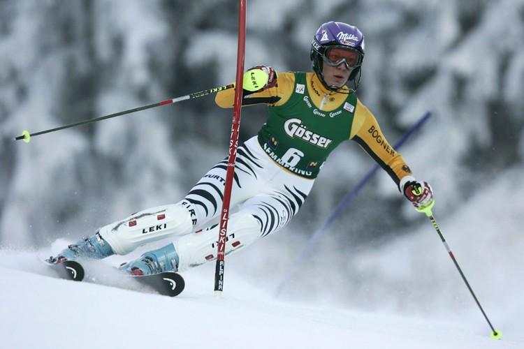 Maria Riesch... (Photo: Reuters)