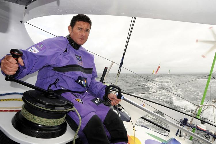 Sébastien Josse a chaviré dans le Pacifique sud.... (Photo: François Van Malleghem, DPPI)