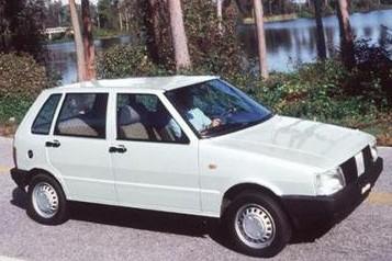 La Fiat Uno... (Photo: AFP)