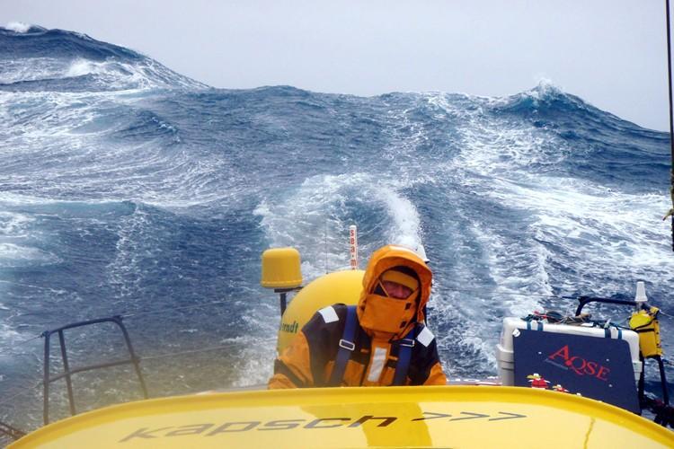 Norbert Sedlacek (Nauticsport) est aux prises avec des... (Photo: Jean-Marie Liot, DPPI)