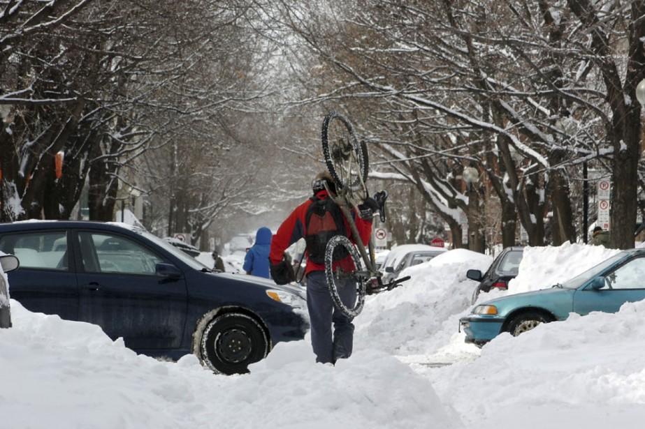 L'hiver 2008 a été l'un des plus longs... (Photo: André Tremblay, La Presse)
