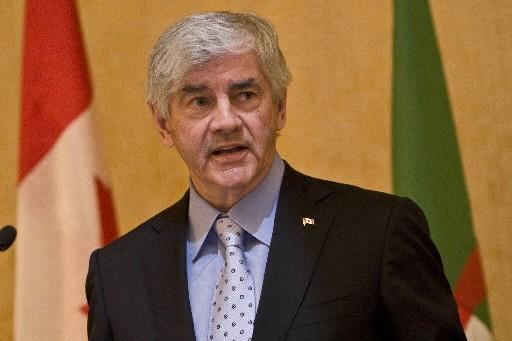 Le ministre des Affaires étrangères, Lawrence Cannon.... (Photo: Rémi Lemée, La Presse)