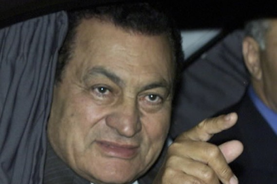 Le président de l'Égypte Hosni Moubarak... (Photo Reuters)