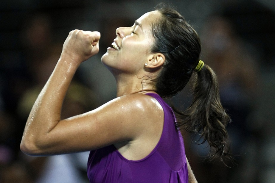 Ana Ivanovic... (Photo: Reuters)
