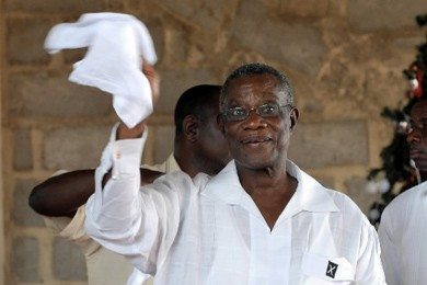 John Atta-Mills... (Photo: AFP)