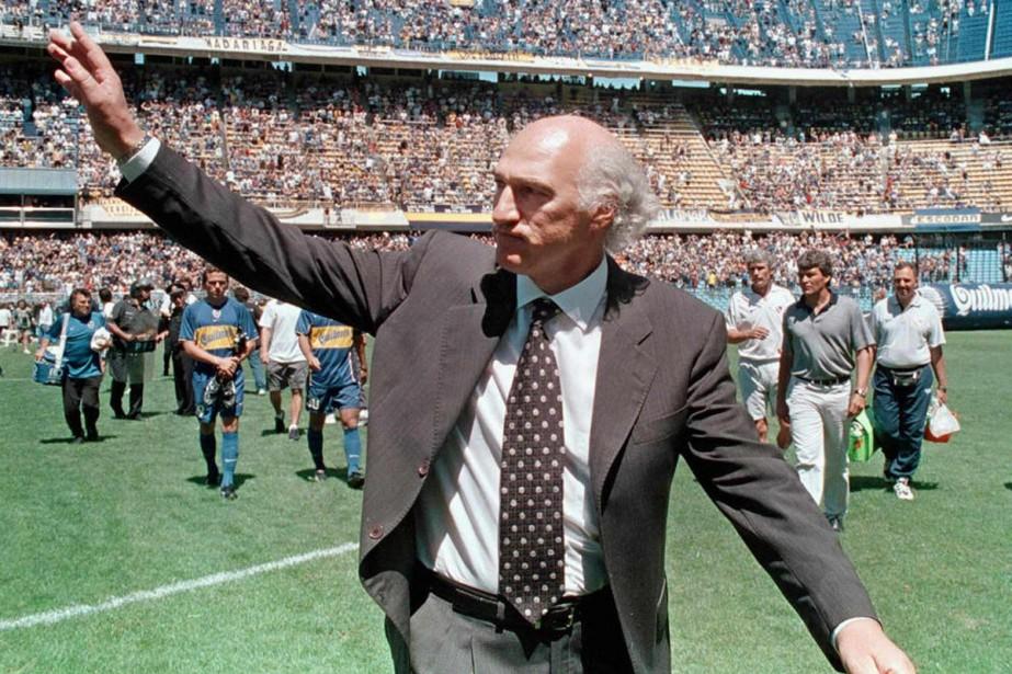 Carlos Bianchi en 2001... (Photo: AFP)