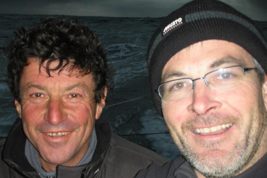 Jean Le Cam et Vincent Riou...