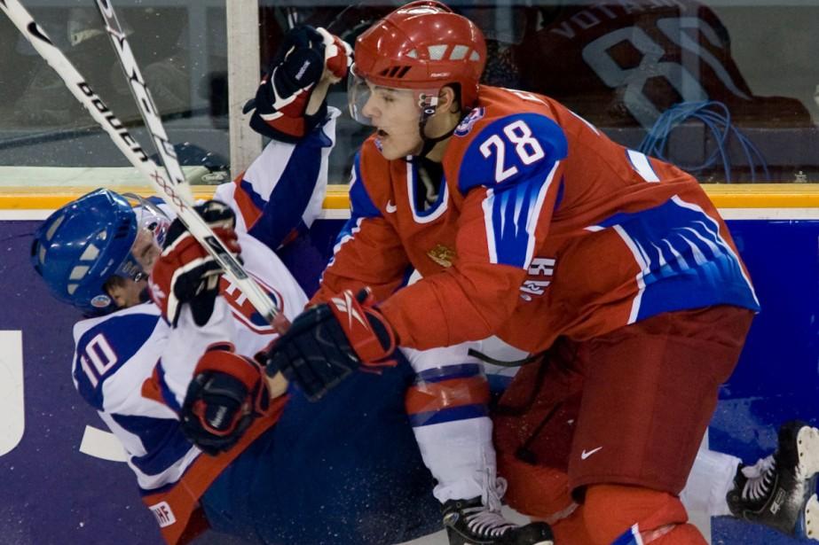 Nikita Filatov (à droite)... (Photo: PC)