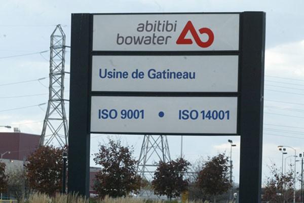 AbitibiBowater (TSX:ABH) a annoncé vendredi avoir vendu... (Archives, LeDroit)