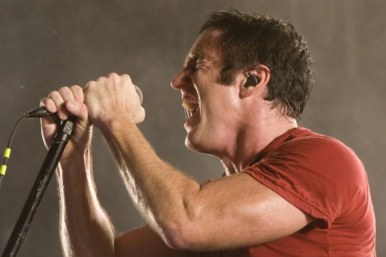 Trent Reznor lors du concert de Nine Inch... (Photo: André Pichette, La Presse)